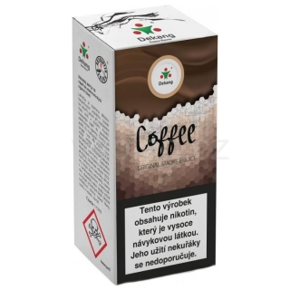 Liquid Dekang Coffee 10ml - 6mg (Káva)