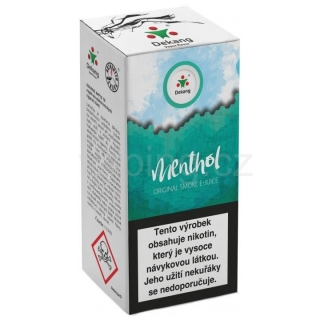 Liquid Dekang Menthol 10ml - 11mg (mentol)