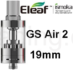 Eleaf GS Air 2 2,5 ml (Stříbrná)