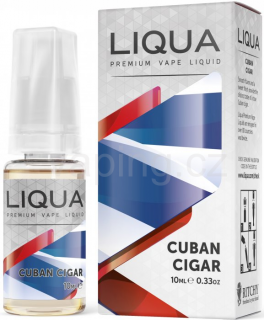 LIQUA Elements Cuban Tobacco 10ml - 0mg (Kubánský doutník)